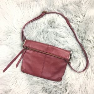 Lucky Brand Del Rey Convertible Leather Crossbody